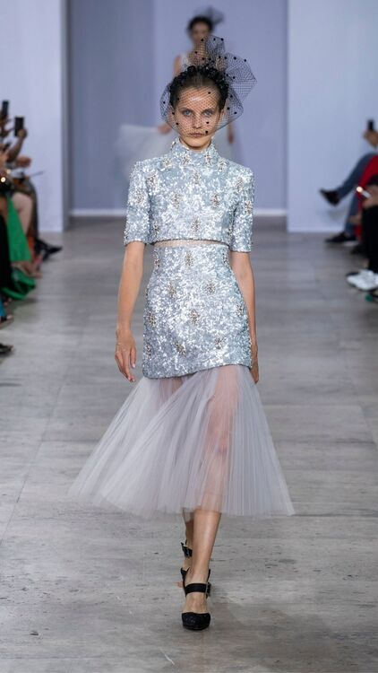 Georges Chakra Channelled Hollywood's Golden Age In His Autumn/Winter 2019 Haute Couture Collection