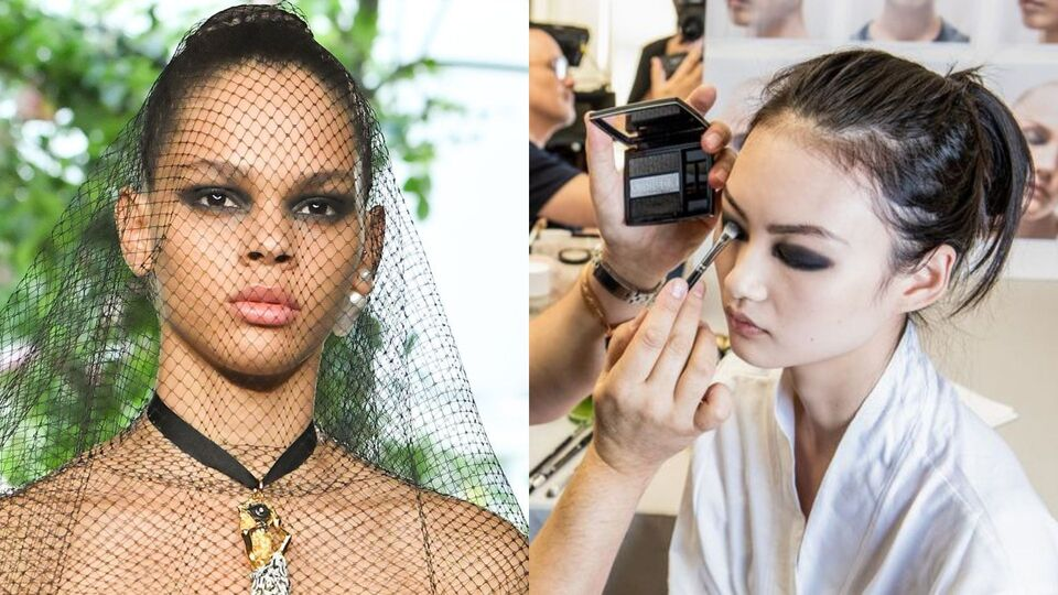 Dior Demonstrates The New Way To Wear A Smoky Eye