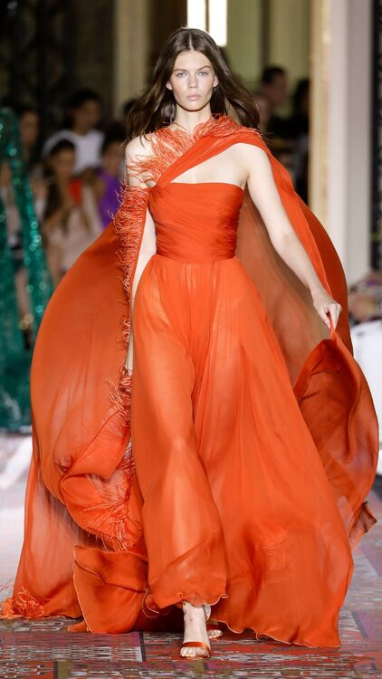 Zuhair Murad's North African-Inspired Haute Couture Autumn/Winter 2019
