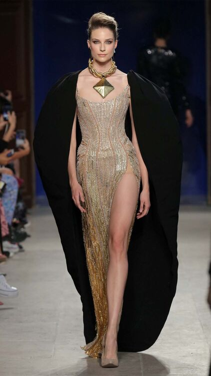 Nicolas Jebran Was His Own Muse For His Haute Couture Autumn/Winter 2019 Collection