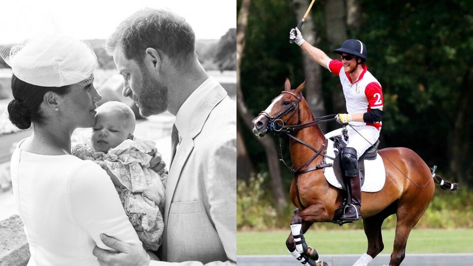 Prince Harry, Meghan Markle And Archie Share A Sweet Family Moment At A Polo Match