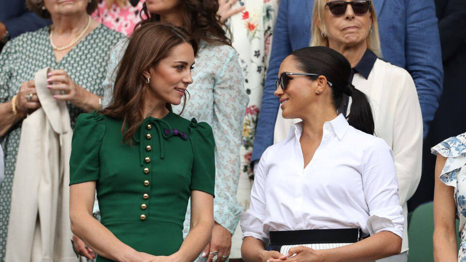 Inside Meghan Markle And Kate Middleton's Girls' Day Out At Wimbledon
