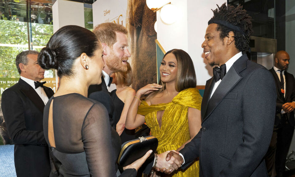 Meghan Markle And Beyonce Just Met For The First Time