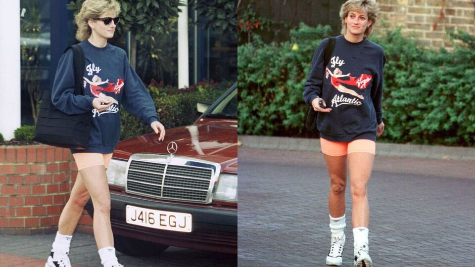 Princess Diana's Old Gym Sweater Just Sold For Dhs195,000