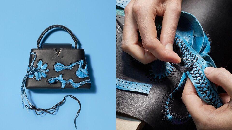 Reimagining Louis Vuitton's Iconic Capucine Bag With Nicholas Hlobo