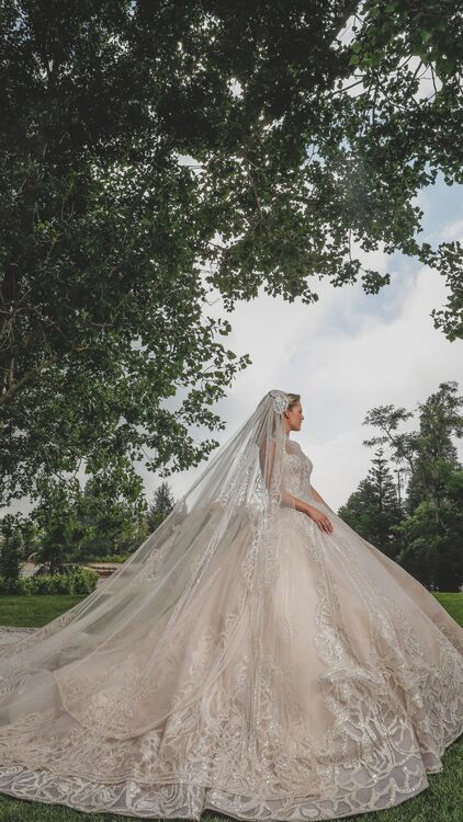 The Most Expensive Wedding Dresses Of All Time Harper S Bazaar Arabia