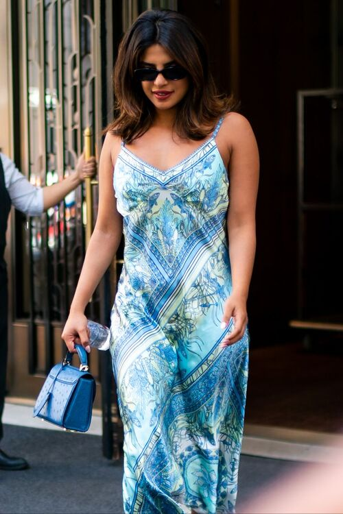 Priyanka Chopra Wears Summer's Favourite Slip Dress Trend