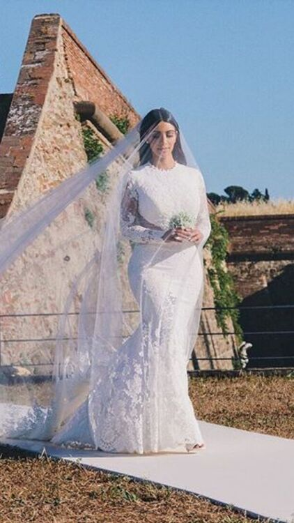 The Most Expensive Wedding Dresses Of All Time Harper S Bazaar