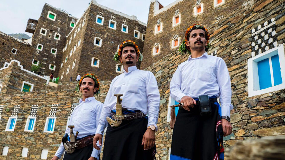 Flowerman Festival In Saudi Arabia's Asir Region Celebrates An Ancient Tradition