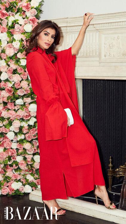 #BAZAARArabiaInLondon: Inside Our Fashion-Fueled Lunch At Harvey Nichols