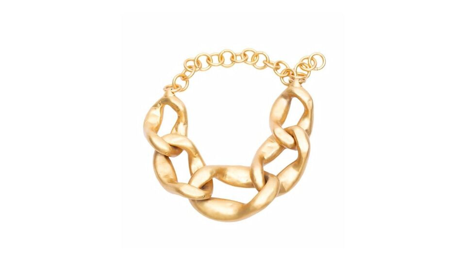 11 Chunky Gold Necklaces To See You Through Autumn's Biggest Accessory Trend