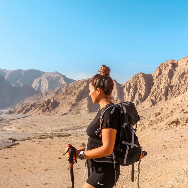 This Dubai Climber Is Set To Become The First Female Mountaineer To Climb All 15 Peaks In The Middle East