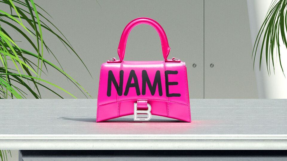 Balenciaga Just Launched A Personalisation Activation In Kuwait Today