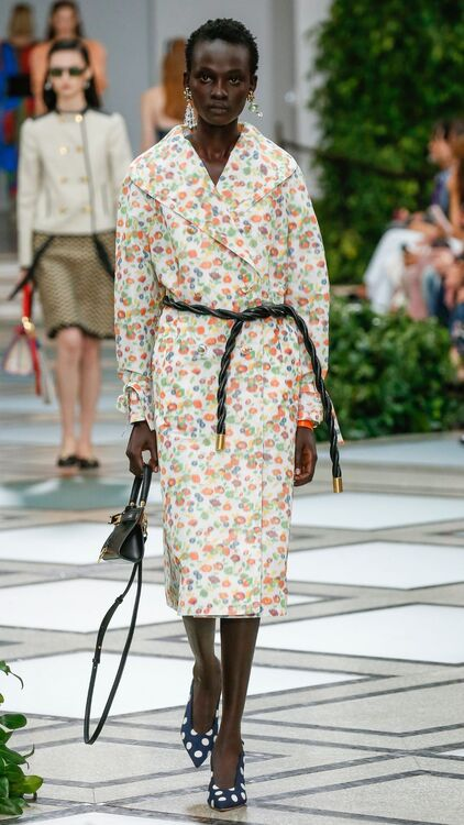 NYFW: Tory Burch's Spring/Summer 2020 Collection Was An '80s Dream
