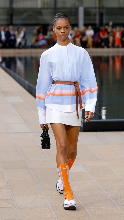 NYFW: Longchamp Takes On A Journey From Dawn To Dusk At The Spring/Summer 2020 Runway Show