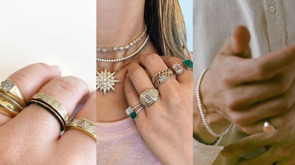 Pinky Rings Are The New Jewellery Trend We Can't Get Enough Of