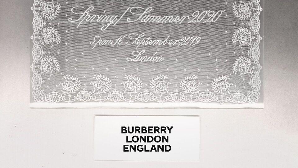 Watch: Live Stream Burberry Spring/Summer 2020