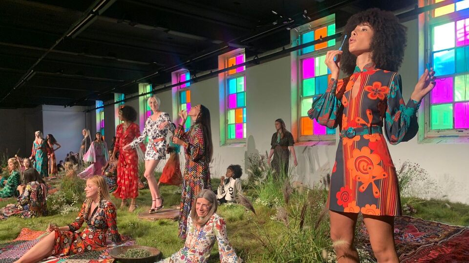 'Back To The Garden' At LFW With RIXO