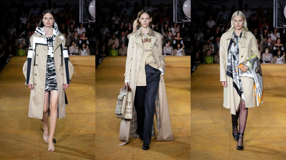 LFW: Burberry's S/S20 Collection Embodies The New Evolution Of The Burberry Kingdom