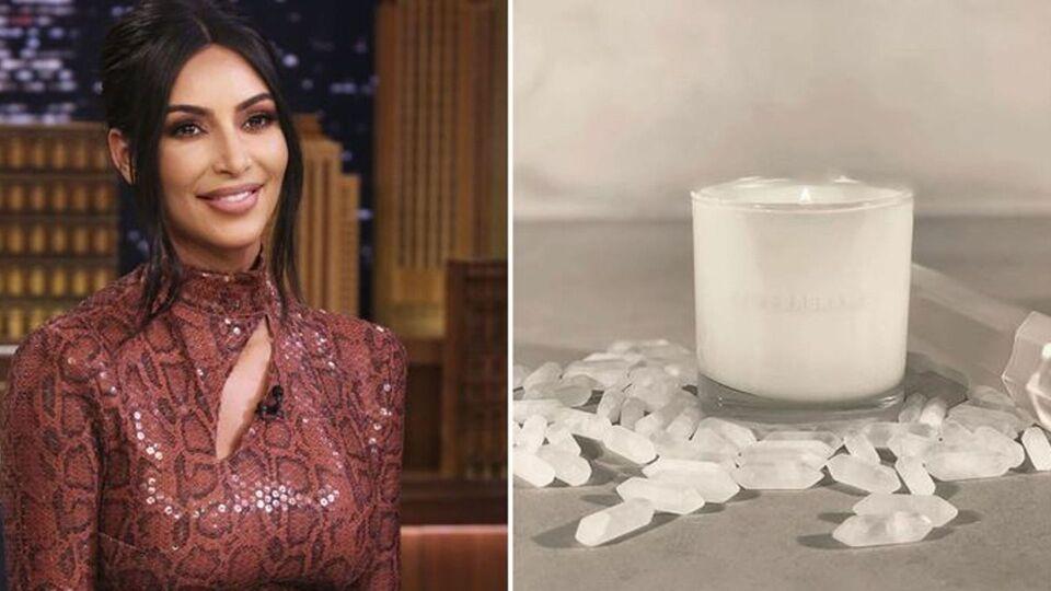 Kim Kardashian Is Launching A KKW Fragrance Candle