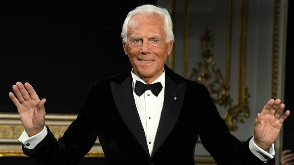 Giorgio Armani Will Be Honoured With The Outstanding Achievement Accolade At The 2019 Fashion Awards