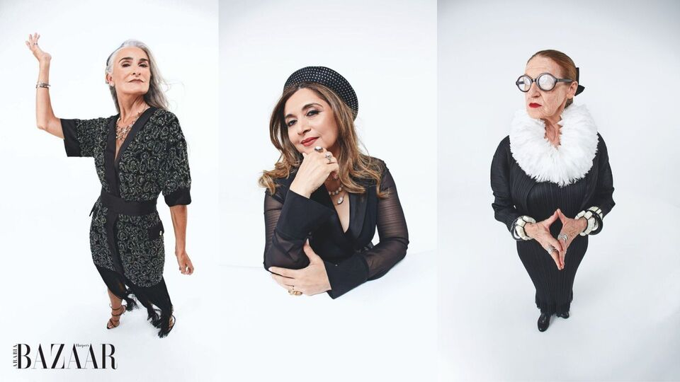 The Greynaissance: The UAE's Most Stylish Glam-mas