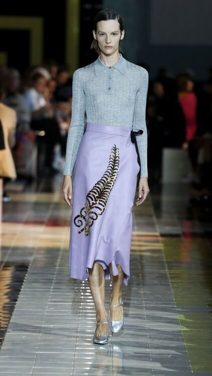 MFW: Prada's Ideal Working Woman Presented In Their Spring/Summer 2020 Collection