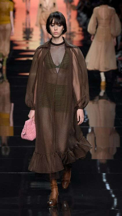 MFW: Fendi Showcases A New Dawn With It's S/S20 Collection