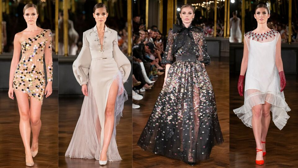 Middle Eastern Talent Shines At London Fashion Week Harper S Bazaar Arabia