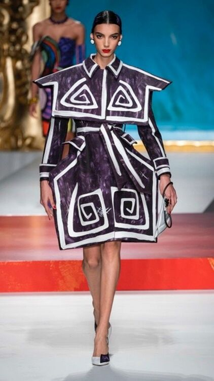 MFW: Moschino Paints A Pretty Picture For Their Spring/Summer 2020 Show