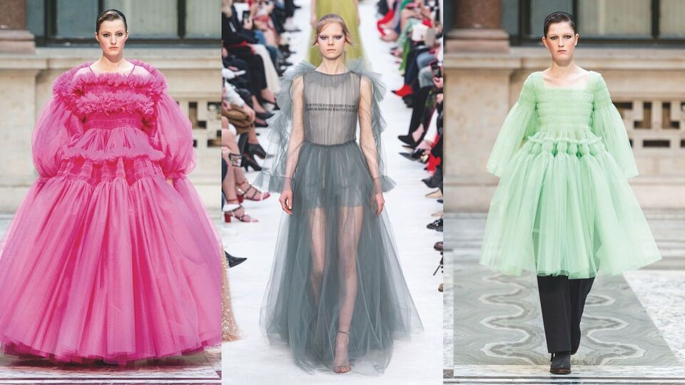 7 Tulles Dresses To Channel A/W 19's Best Frilly Runway Looks