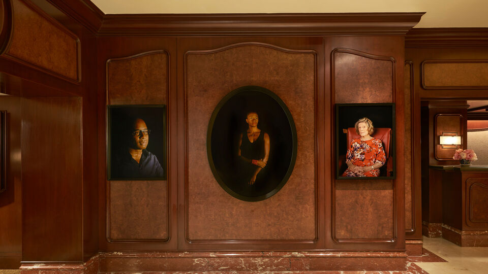 Contemporary Artworks From Lehmann Maupin Find A New Home At The Peninsula New York