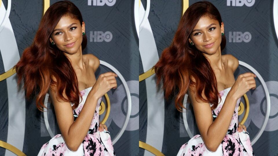 Zendaya Changed Into A Floral Puff-Ball Dress For The Emmys After-Party