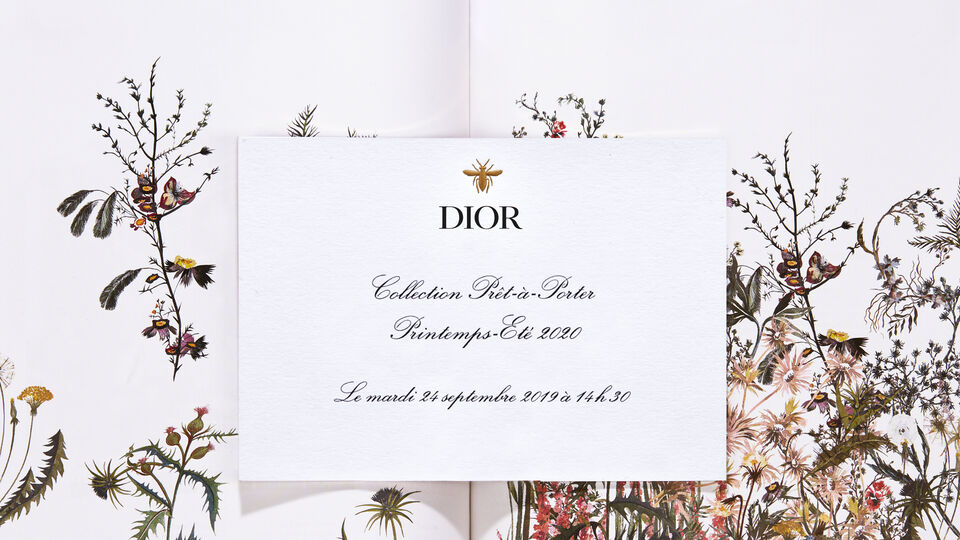 Watch: Live Stream Dior Spring/Summer 2020