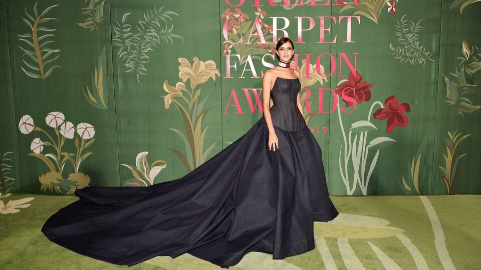 The Best Celeb Moments From The 2019 Green Carpet Fashion Awards