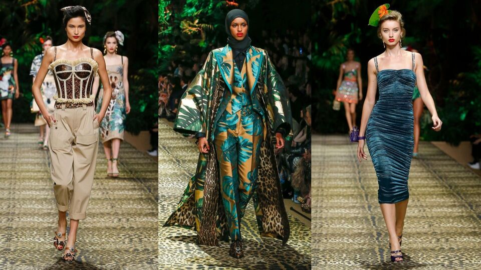 MFW: Top 10 Looks From Dolce & Gabbana's Spring/Summer 2020 Show