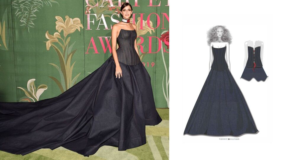 The 10 Best Custom Sustainable Gowns The From Green Carpet Fashion Awards