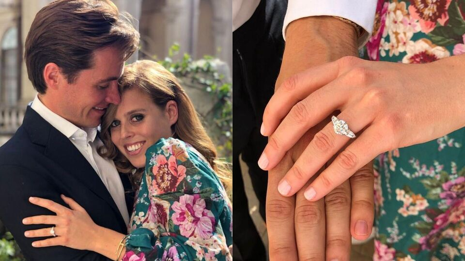Princess Beatrice's Bespoke Engagement Ring Was Designed By The Groom