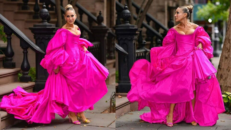 Sarah Jessica Parker Just Had A Major Carrie Bradshaw Moment in NYC