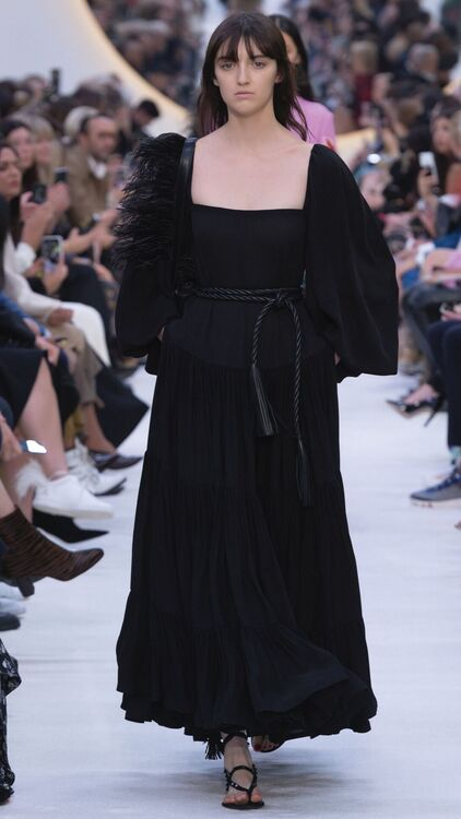 PFW: Ready-To-Wear Meets Couture In Valentino's S/S20 Collection