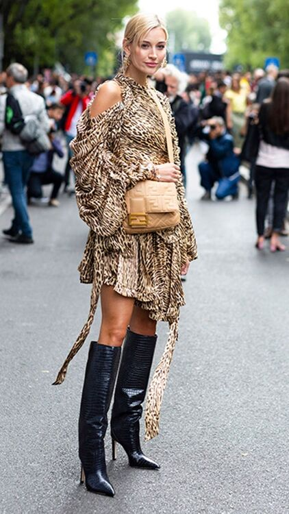 Fashion Week Street Style: The Return Of The Tall Boot
