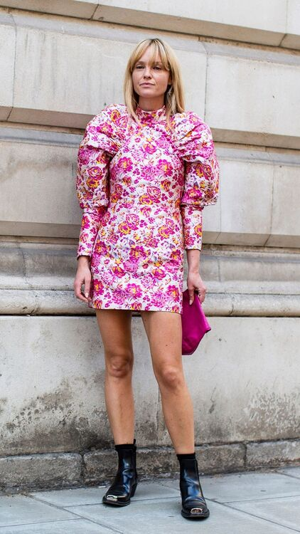 Fashion Week Street Style: Pink Is Hot