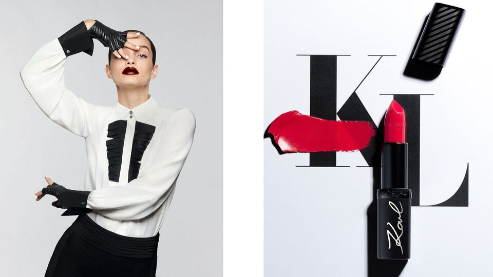 Karl Lagerfeld x L'Oréal Paris Just Dropped - And It's Epic