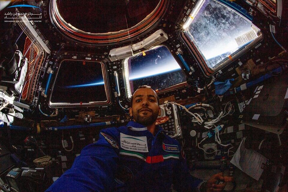 Hazzaa AlMansouri's Epic Selfie From Space