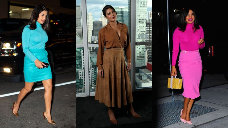 Why You Need To Adopt Priyanka Chopra's One-Tone Dressing Trick