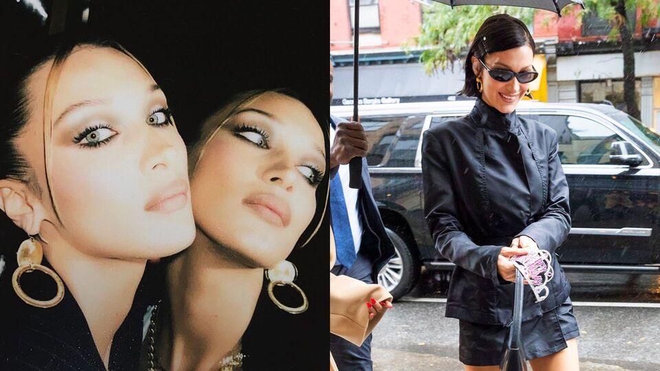 Bella Hadid Rings In Her Birthday With Gigi And Dua Lipa In New York City