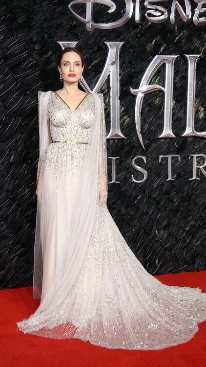 All The Looks From Angelina Jolie's Maleficent Tour Wardrobe So Far