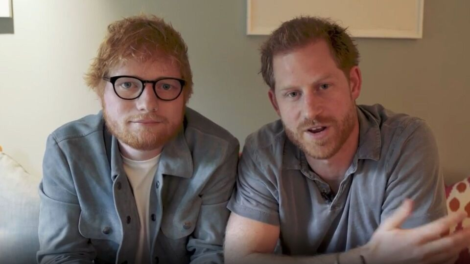 Prince Harry and Ed Sheeran Team Up To Raise Awareness For World Mental Health Day