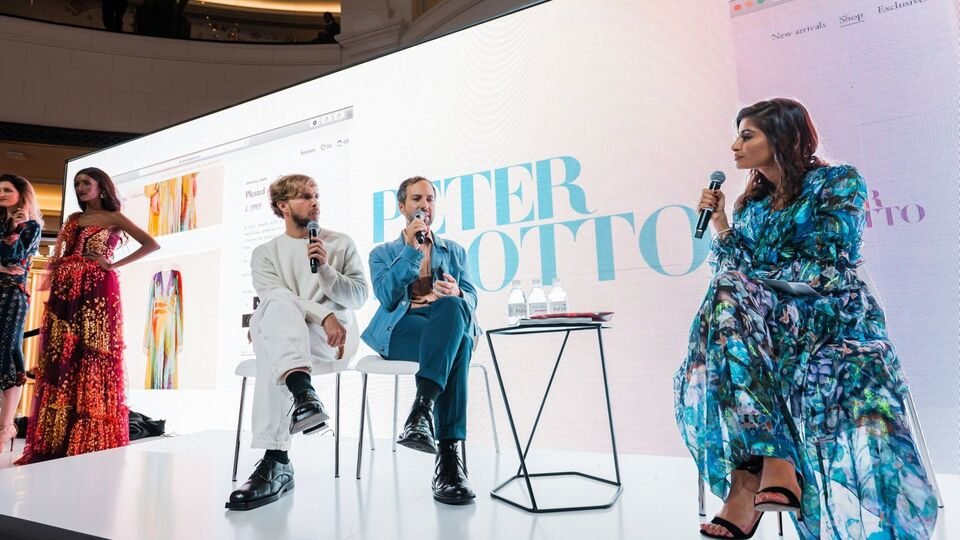 A Chat With Peter Pilotto And Christopher De Vos At The Bazaar Capsule