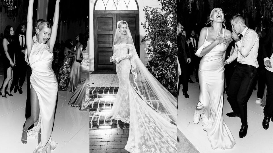 Every Single Thing Hailey Bieber Wore For Her Wedding